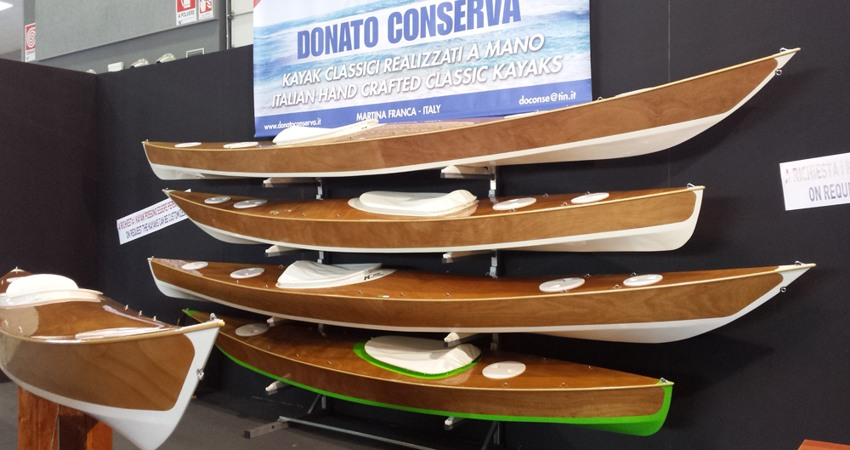 Great success for Donato Conserva's kayaks